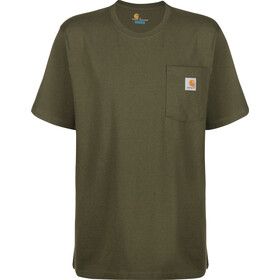 Carhartt Workwear Pocket T-Shirt Men, olive heather